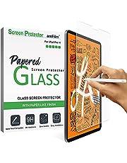 amFilm PAPERTOWANA szklana osłona ekranu kompatybilna z iPad Pro 11 (2021/2019), iPad Air 4 (2020), folia ochronna ze szkła hartowanego z matowym wykończeniem (1 szt.)