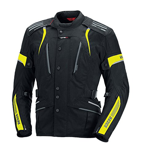 IXS Women's Nemesis Jacket (Hi-Viz Yellow/Black, ()