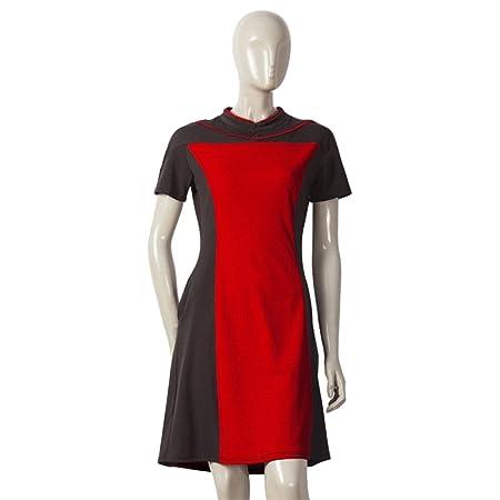 nihiug Star Trek Cos Actriz De Ropa Amarillo Falda Roja Uniforme ...