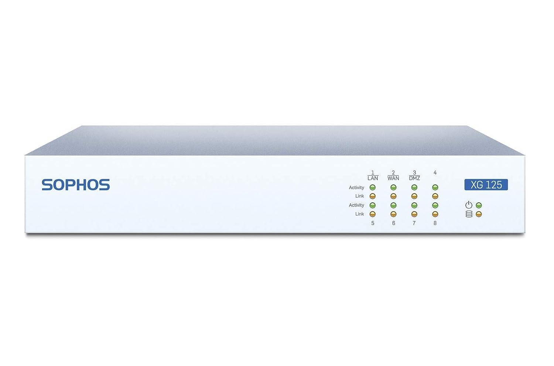 Sophos XG 125 rev 2 Next-Gen VPN Firewall Appliance