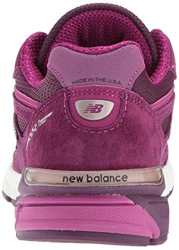 New Balance Womens W990v4 Scarpa Da Corsa Dark Gelso