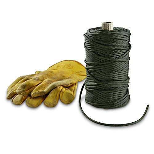 Gladding Braided PRD Military Style 550-lb. Tensile Paracord, 100 Yards, Olive Drab by Gladding Braided PRD