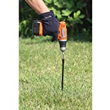 Ashman Black Ground Anchor 15 Inches in Length and