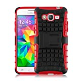 Galaxy A5 (2015) Case - ALLIGATOR Heavy Duty Rugged Double Protection Back Cover for Samsung Galaxy A5 (2015), Red