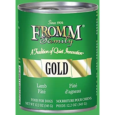 Fromm Dog CAN Gold Pate Lamb 12.2oz/12