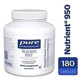 Pure Encapsulations – Nutrient 950 – Hypoallergenic Multi-vitamin/Mineral Formula for Optimal Health* – 180 Capsules