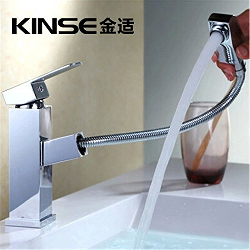 Dayanand Sink Faucet Waterfall Spout Bathroom Sink Faucet Antique Copper Basin Mixer Tap The brass faucets and taps for wash-down basin mixer basin Faucet (Washdown Faucet)