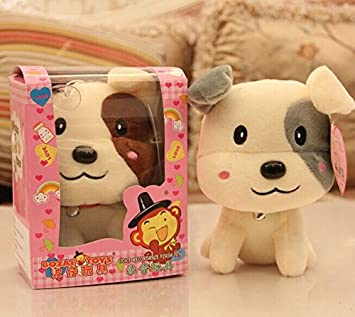 Aliexpress new 12 seconds recording boxed cartoon dog plush toys wholesale lovely pp cotton soft toy