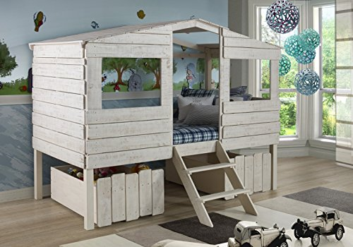 DONCO Kids 1380TLRS Series Bed, Twin, Rustic Sand
