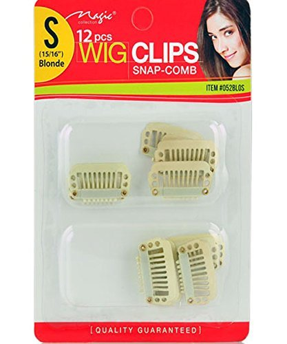 Clips Snap Comb Small Blonde product image