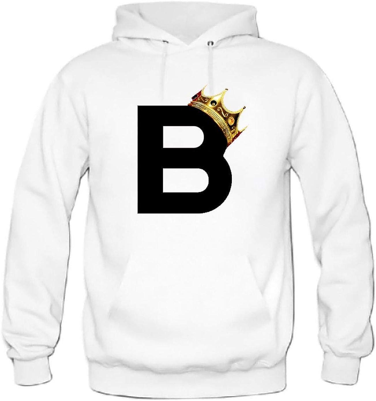 baixia Biggie Mens Hoodie Rap Design Hooded Sweater