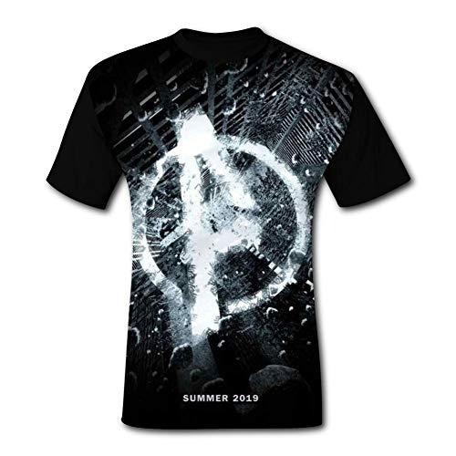 The Ave-NG-eRs End-Game Mens T Shirts Short Sleeve Shirt Casual Tops Tee Black