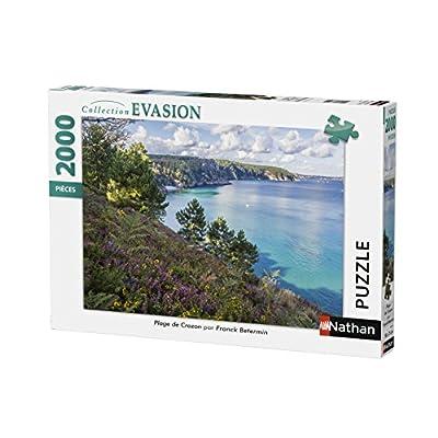 Nathan Puzzle Spiaggia Di Crozon 2000 Pezzi 87879