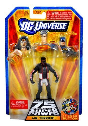 DC Universe Infinite Heroes 75 Years of Super Power Action Figure Mr. Terrific by DC
