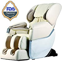 Mr Direct New Electric Full Body Shiatsu Massage Chair Recliner Zero Gravity w/Heat
