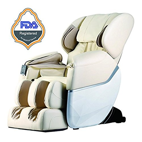 BM EC77 Electric Full Body Shiatsu Massage Chair Recliner Zero Gravity w/Heat