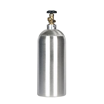 10lb co2 Tank New Aluminum Cylinder with CGA320 Valve
