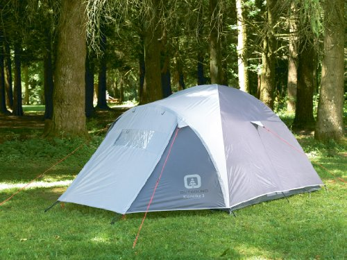Amazon.com  Outbound Klondike 3 Person Dome Tent (Grey Small)  Family Tents  Sports u0026 Outdoors & Amazon.com : Outbound Klondike 3 Person Dome Tent (Grey Small ...