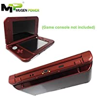 "Nintendo New 3DS XL /LL Mugen Power Triple Juice Power 6250mAh Extended Battery Upgradeable Kit ""Not Including Game and Console"" (New Red Cover)"