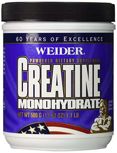 Weider  Creatine Monohydrate 500 Grams,  Bottle
