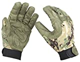 AIRSOFT MILITARY PADDED VENTED CORDURA CAMO GLOVES AOR2 JUNGLE DIGI GREEN LARGE