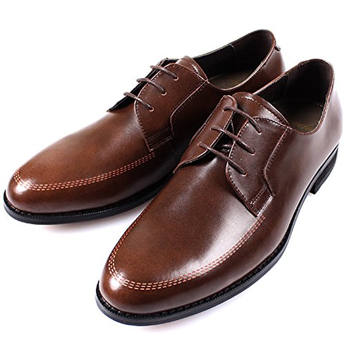 Oxfords Fashion Mooda Lace Formal Men Shoes Casual Brown Up Dress New Leather wqAYwz