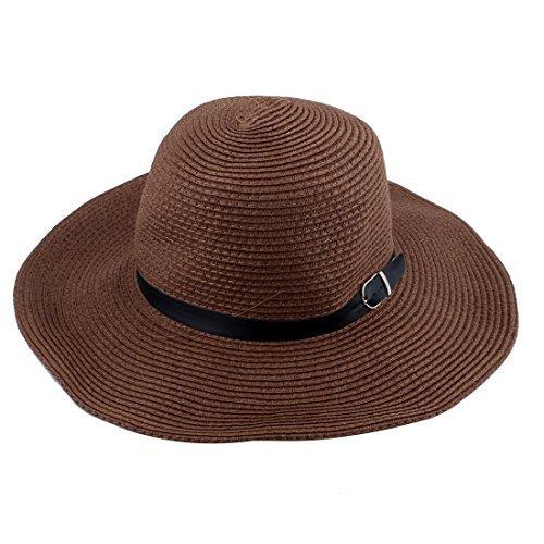DealMux Fisherman Sports Straw externas alça ajustável Ampla Cap Verão Brim Sun Protector Boonie Hat Pesca
