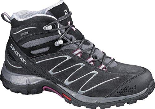 senderismo SalomonEllipse y gris caña Mujer de de Mid zapatillas Gris LTR media GTX trekking wqTH1fw