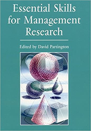 Essential Skills for Management Research  (By  David Partington)   published  dc8e48c90813