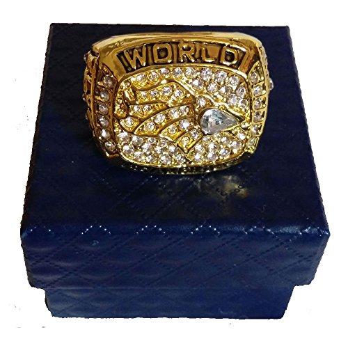 YIYICOOL Denvers' 1997 Broncos Championship Ring Size 10.5 (paper box)