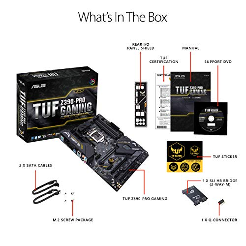 Build My PC, PC Builder, ASUS TUF Z390-Pro Gaming