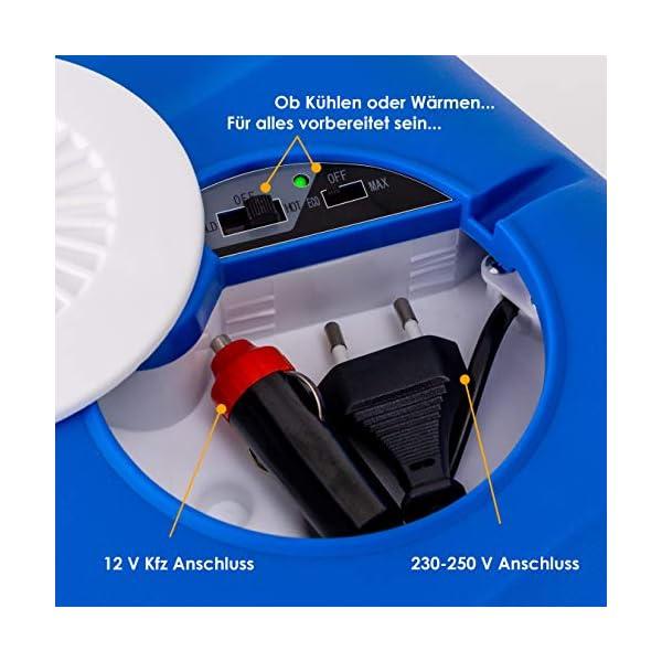 51 8ukT%2BlkL Kesser® 40L Kühlbox mit Rollen | zum Warmhalten und Kühlen | Thermo-Elektrische Kühlbox | 12 Volt und 230 Volt| Mini…