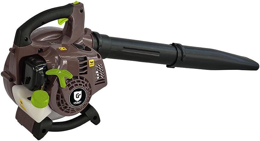 Groway GBL-25 - Soplador aspirador de hojas con motor 2T de 26cc ...