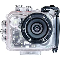 Intova HD2 Waterproof 8MP Action Camera with Built-in 150-Lumen Light and Remote Control