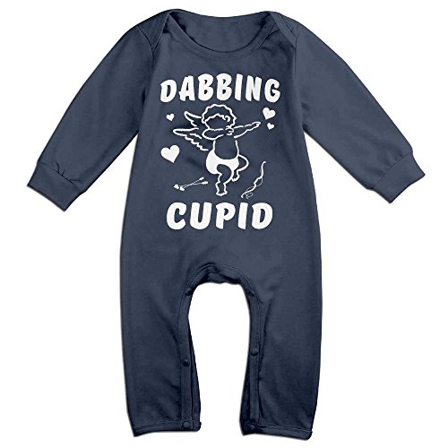 Milkman's Baby Costume (Orz Infants Cupid Long Sleeve Bodysuit Baby Onesie Baby Climbing Clothes Outfits For 0-24 Months Navy 6 M)