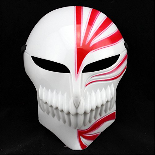 JetkyShop New Scary Masks Halloween Party Mask Cosplay Disgusting Face Terror Head Mask]()