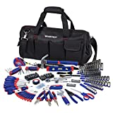 WORKPRO W009037A 322-Piece Tool Kit w/ Carry Bag