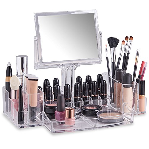 Beautify Acrylic Cosmetic Organizer Two Sided