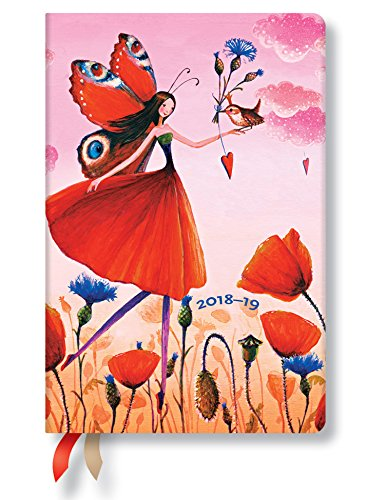 Poppy Field Mini 18 Month Day Planner 2018-9 by Paperblanks