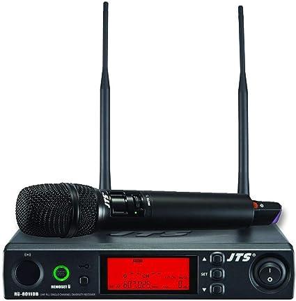 JTS UHF PLL Sistema de micrófono inalámbrico de mano de ...