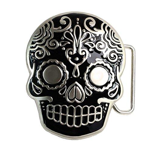 Skull Buckle Metal - 7