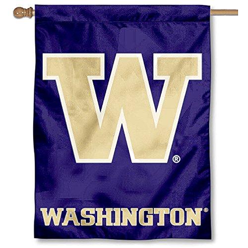 University of Washington Huskies House Flag
