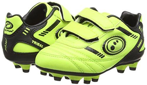 Optimum Tribal - Zapatillas de fútbol para niños Amarillo (yellow/black)