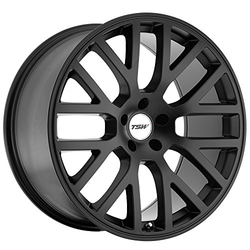 TSW Alloy Wheels Donington Matte Black Wheel (19x8