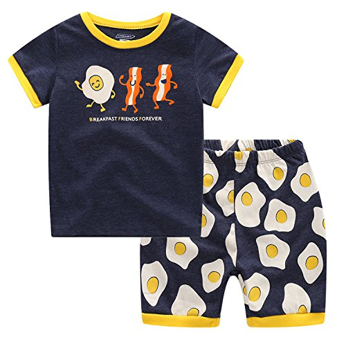 Baby Clothes Boys CNBABY Cute Fruit Boys Summer Pajamas Toddler Shorts (2 Toddler)