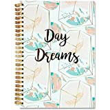 "Premier Stationery G3818427 A5""I Love Stationery"" Day Dreams Design Spiral Notebook"