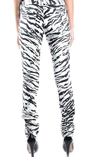 Bianco nero Saint Donna Cotone Mcbi264015o Jeans Laurent ffwXT4