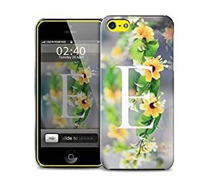 letter e iPhone 5c protective phone case