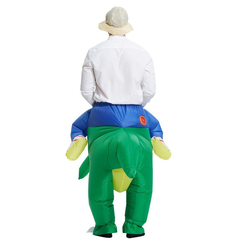 Amazon.com: TOLOCO - traje para disfraz inflable de T-REX ...