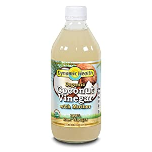 Dynamic Health Coconut Vinegar w Mother Organic | 16 oz